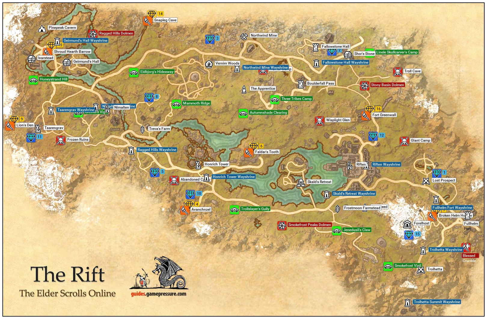 Awesome Elder Scrolls Online Map Size Galleries - Printable Map ...